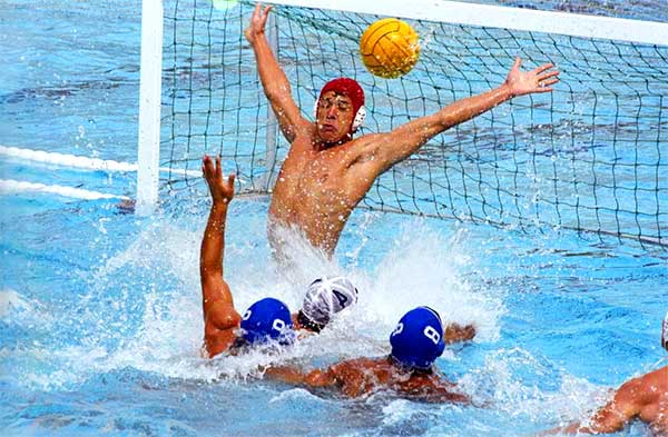 Water Polo Is Go Go