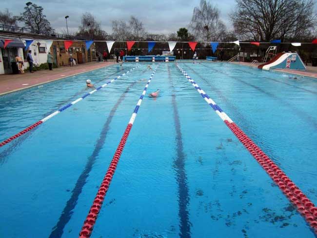 Walk Swim Richmond To Hampton Brockwell Swimmers