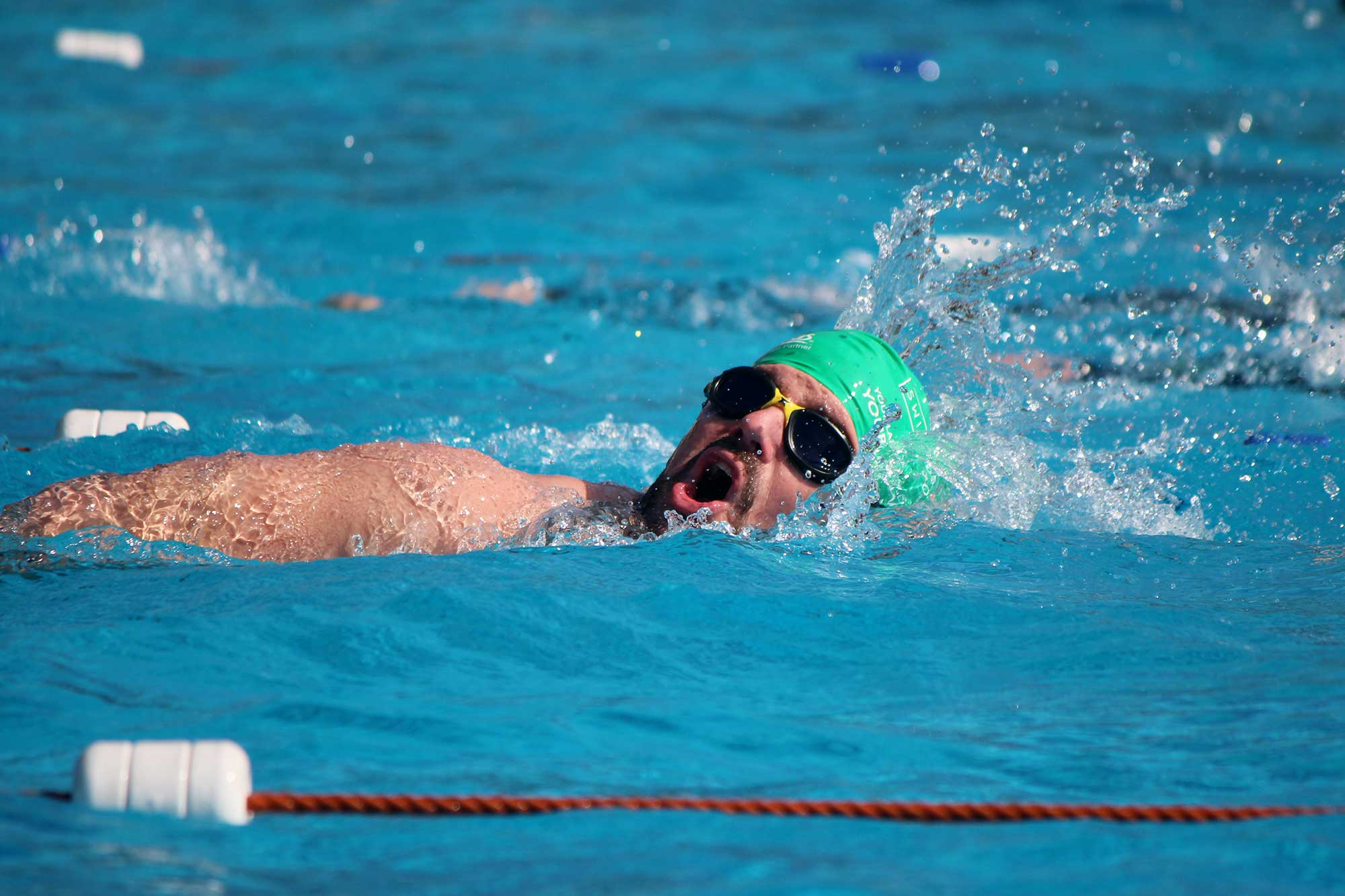 Brockwell Lido swimathon17_james3