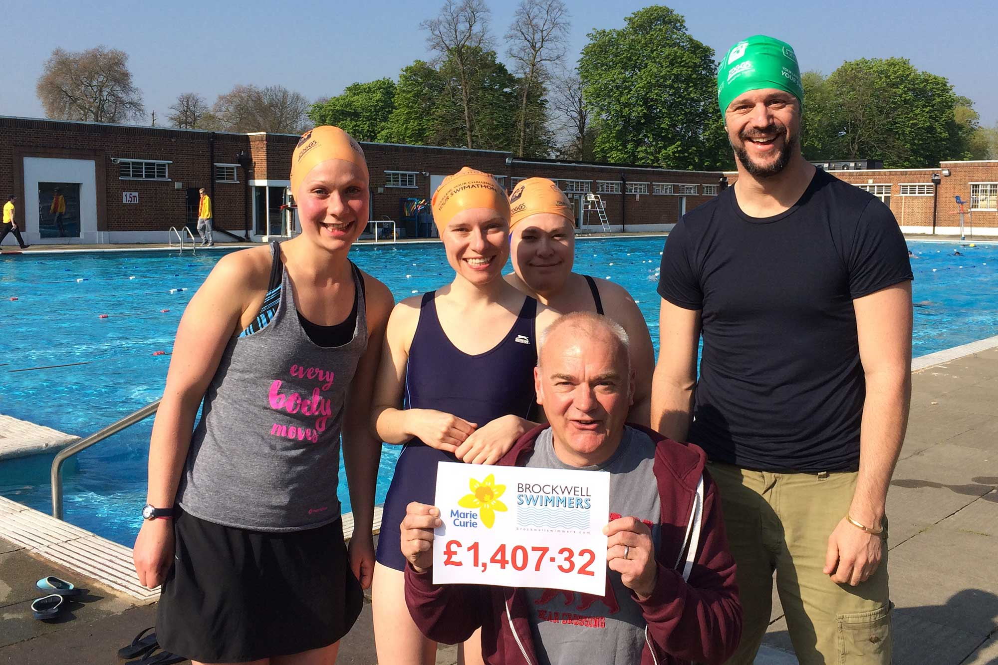 Brockwell LIdo Swimathon 2017