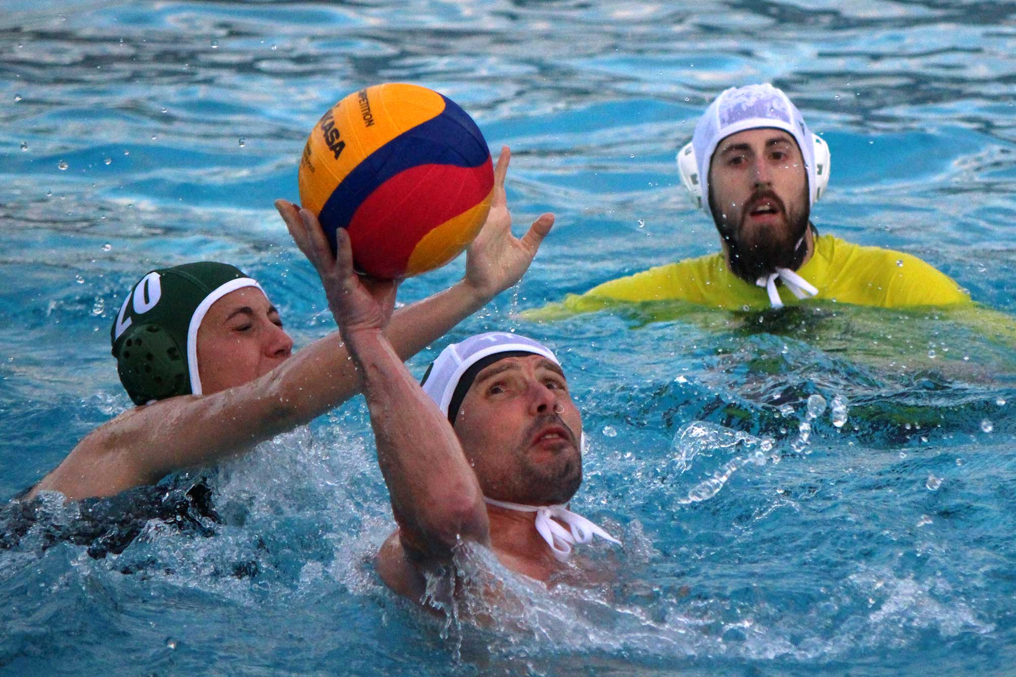 Water Polo at St Josephs, London SE19, Brockwell Lido.
